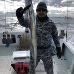 1月4日の釣果報告!! タチウオジギング
