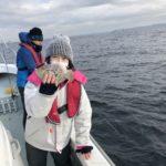 1月12日のカワハギとイカ狙い釣果報告!!
