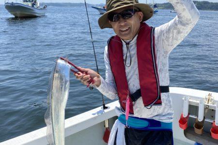 6月17日の釣果報告!! 太いタチウオ釣れてます。