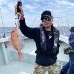 9月22日の釣果報告!! 鯛ラバ