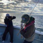 本日、沖釣り専門誌【つり丸】さんの取材で出船してきました。