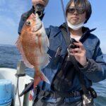 4月8日の鯛ラバ釣果報告!!