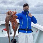 3.5キロの大タコ釣れましたよ!!