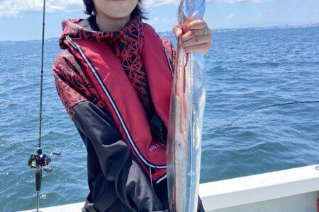 7月19日の釣果報告!!イナワラ・サワラのボイル出てましたよ。