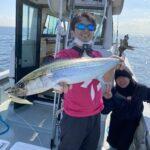 イナダ好調でサワラ釣れました!!つり丸にけやき丸掲載中です。
